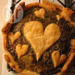 Spinazie taart recept