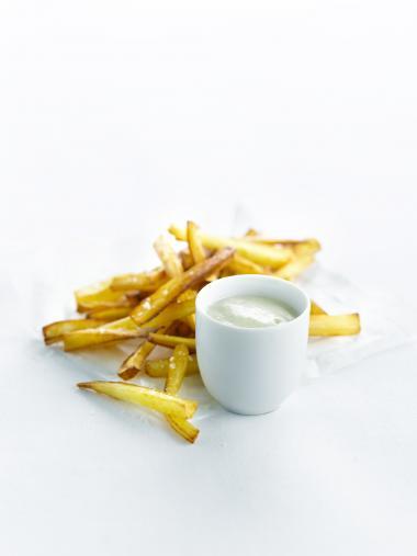 Recept 'frietjes van pastinaak'
