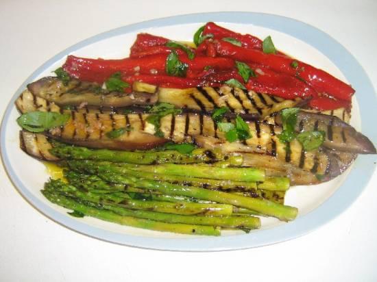 Italiaanse gegrilde groenten recept