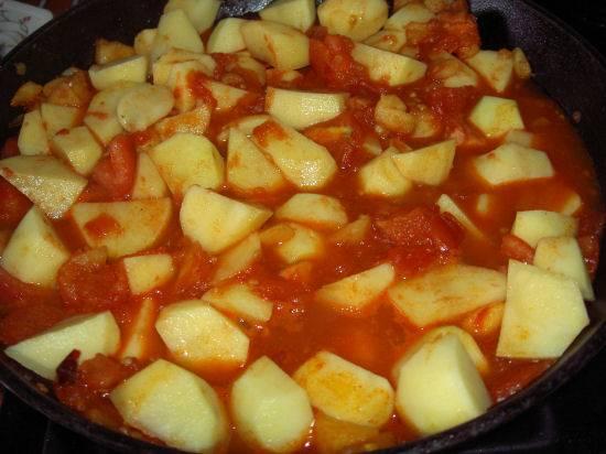 Heerlijke stoofschotel, (slowcooker/oven of gas) recept