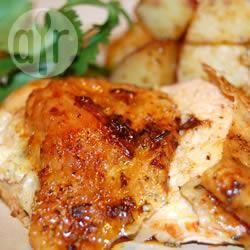 Langzaam geroosterde kip recept