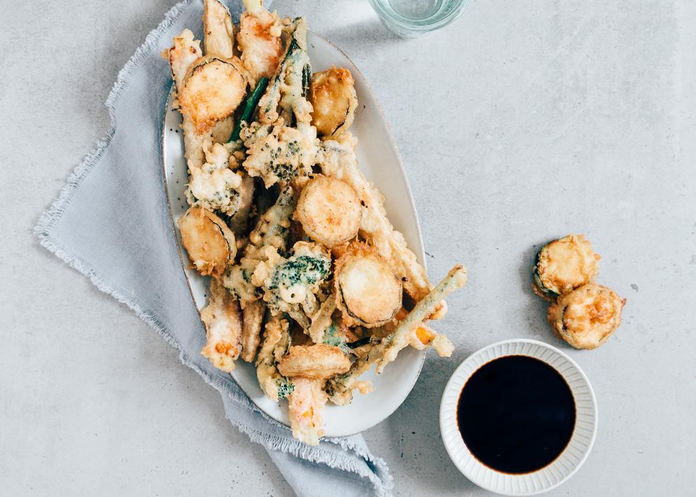 Weekendbites: groente tempura