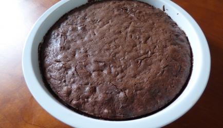 Chocolade-courgette taart recept