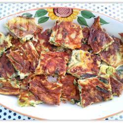 Italiaanse courgette frittata recept