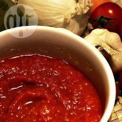 Pastasaus van geroosterde tomaten recept