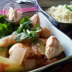Marokkaanse kip met couscous recept