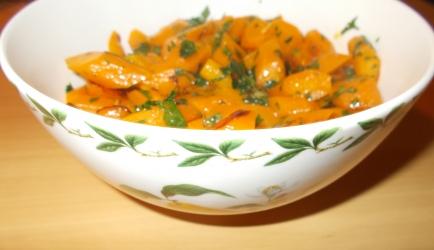 Licht gebakken worteltjes met verse gember en citroen recept ...