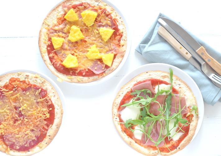 Kidsproof: tortilla pizza's