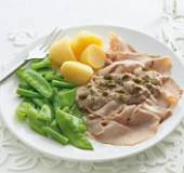 Varkensfricandeau met tonijnmayonaise recept