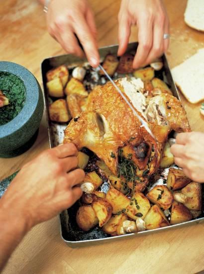Jamie oliver citroen kip met rozemarijn aardappeltjes recept ...