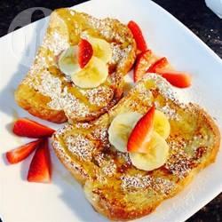 Luchtige wentelteefjes (french toast) recept