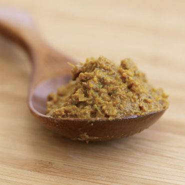 Thaise gele currypasta recept