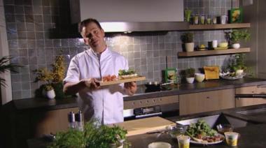 Recept 'boterham met platte kaas en radijzen'