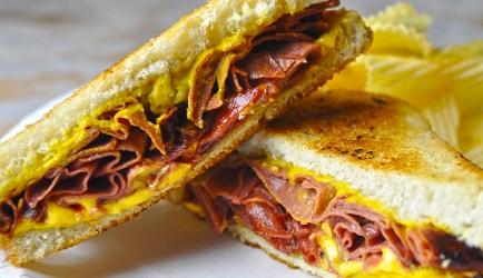 Boloney of bologna sandwich recept