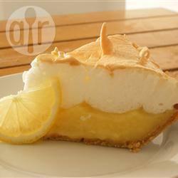 Oma's citroentaart met meringue recept