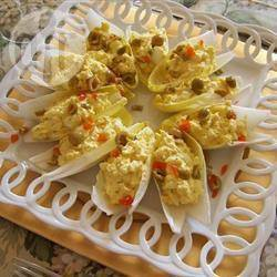 Eiersalade met witlof recept