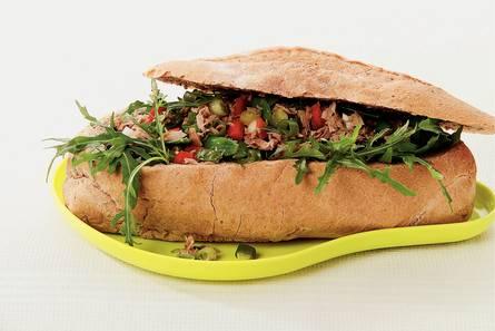 Picknickbrood met tonijnsalade