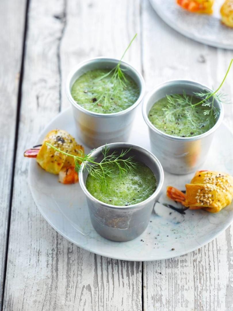 Recept 'komkommersoep'