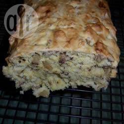Sinaasappelcake met noten recept