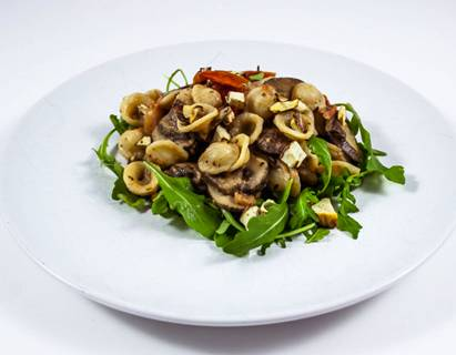 Romige pasta met kastanjes en kastanjechampignons recept ...