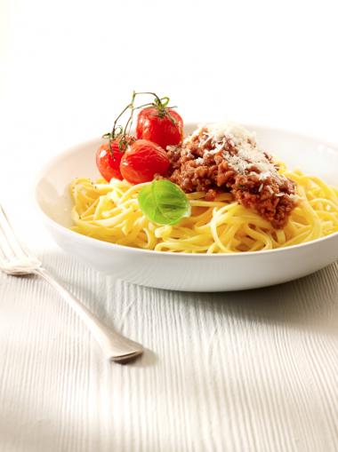 Recept 'spaghetti bolognese à la roger'