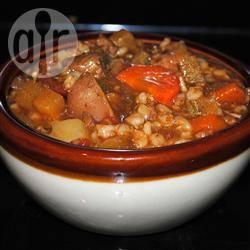 Iers stoofpotje met lamsvlees recept