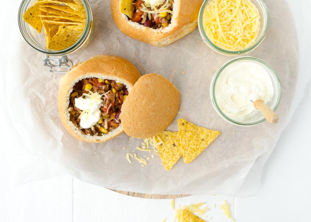 Weekendbites: mexicaanse broodjes