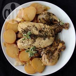 Hele kip uit de slowcooker recept