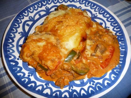 Ovenschotel stroganoff recept
