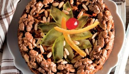 Zelten, een speciaal kerstbrood uit zuid-tirol.italië recept ...