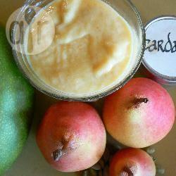 Mango-peersmoothie recept