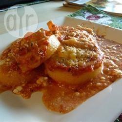 Angie's lasagne van polenta recept