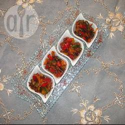 Ratatouille van vier paprika's recept