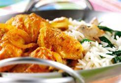 Indiase kip korma uit de wok recept