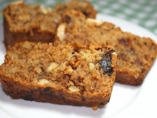 Dadel-walnotencake recept