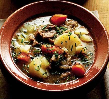 Irish stew recept