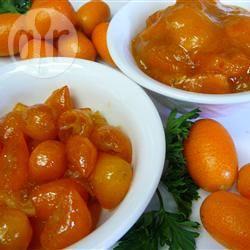 Kumquat compote recept