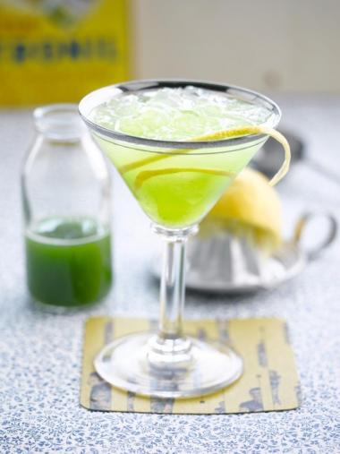 Recept 'komkommergimlet'