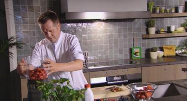 Recept 'aardbeienmilkshake'