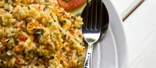 Nasi goreng (indonesisch: recept