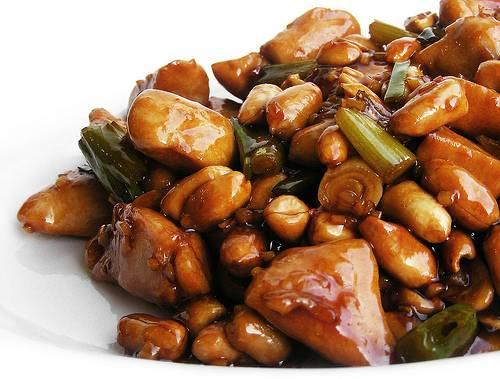 Kip kung pao recept