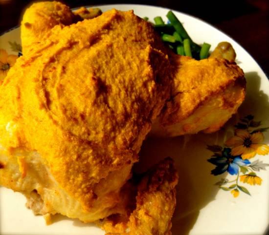 Hoemoes kerrie kip uit de oven recept