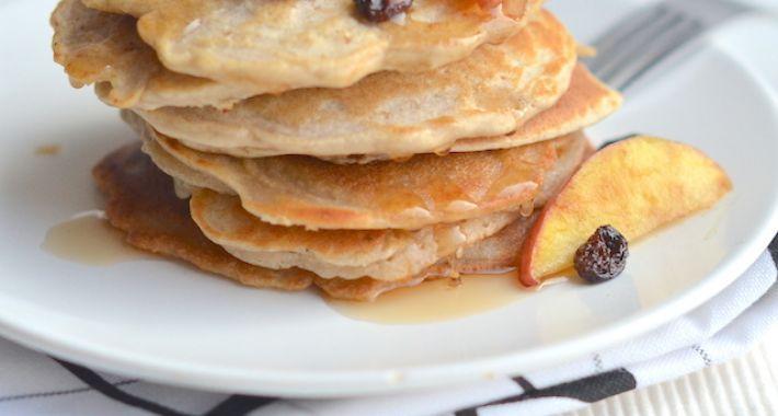 Het recept voor gezonde havermout pannenkoeken met appel