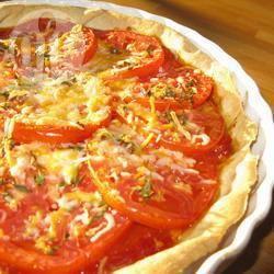 Verse tomaten taart recept