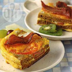 Tomatensandwich uit de oven recept