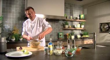 Recept 'gazpacho'