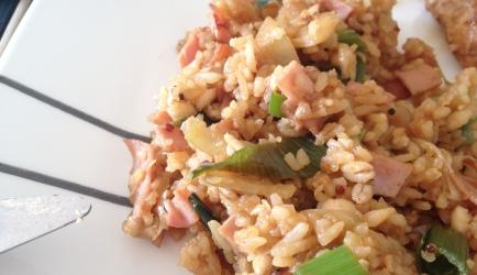 Simpele maar lekkere nasi (kan vegetarisch) recept