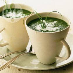 Knolselderij-spinaziesoep recept