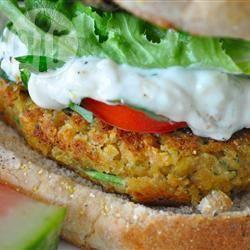 Gebakken falafel recept