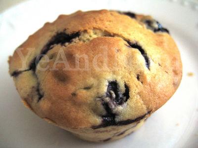 Bosbessen-yoghurt muffins recept